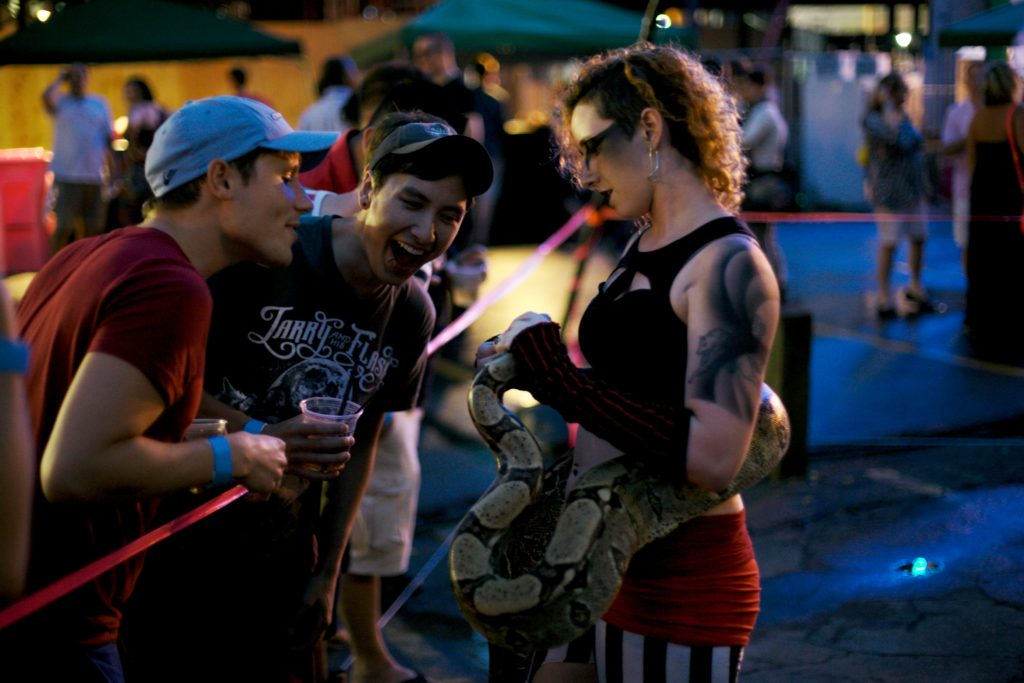Snake Charmer- Enticing Entertainment- Pride Minneapolis