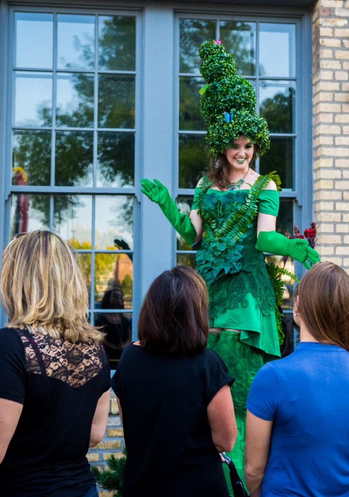 Living Topiary Stilt Walker- Enticing Entertainment Showcase