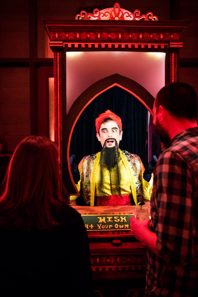 Living Zoltar Machine- Enticing Entertainment- MIA