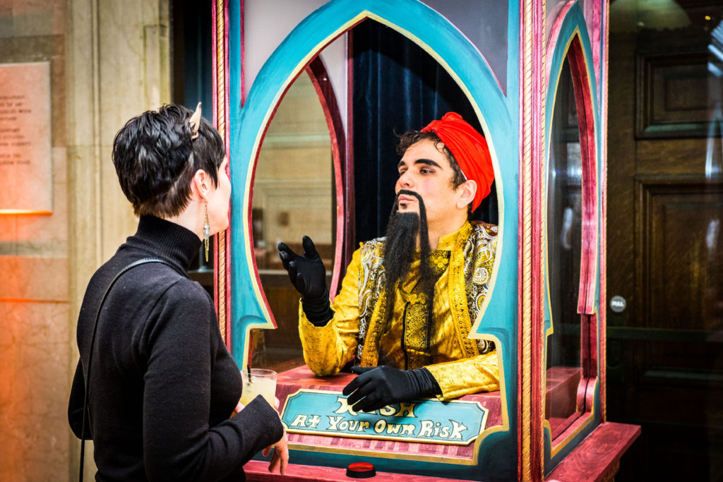 Living Zoltar Machine-Enticing Entertainment- MIA