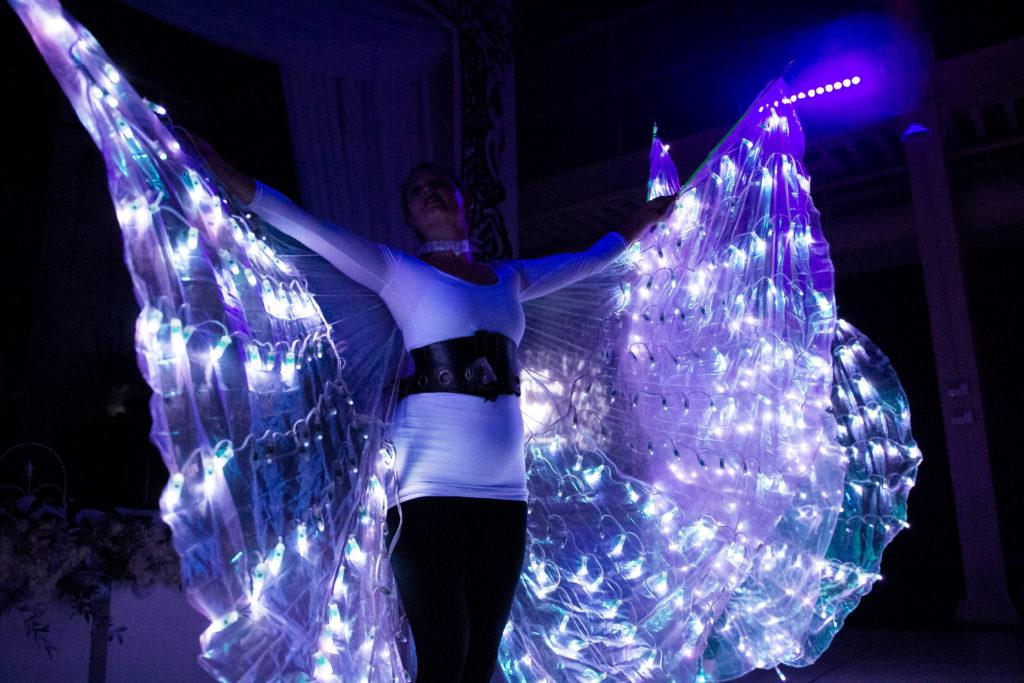 LED Wing Dancer- Enticing Entertainment- ILEA MN Star Wards- Unluckiest Bash