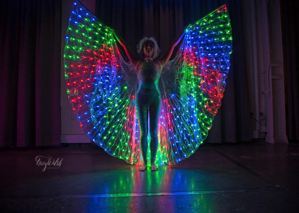 LED Wings- Enticing Entertainment- Machine Shop