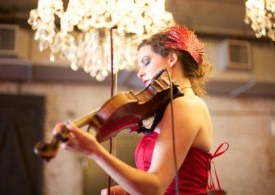 Roaming Violinist