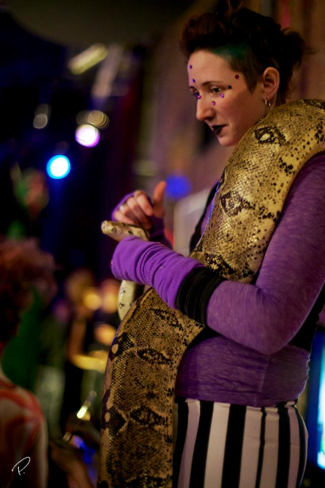 Snake Charmer- Enticing Entertainment- Studio McCutch